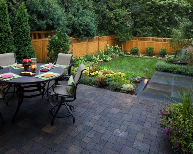 Home Art Small Backyard Design Small Backyard Gardens Small