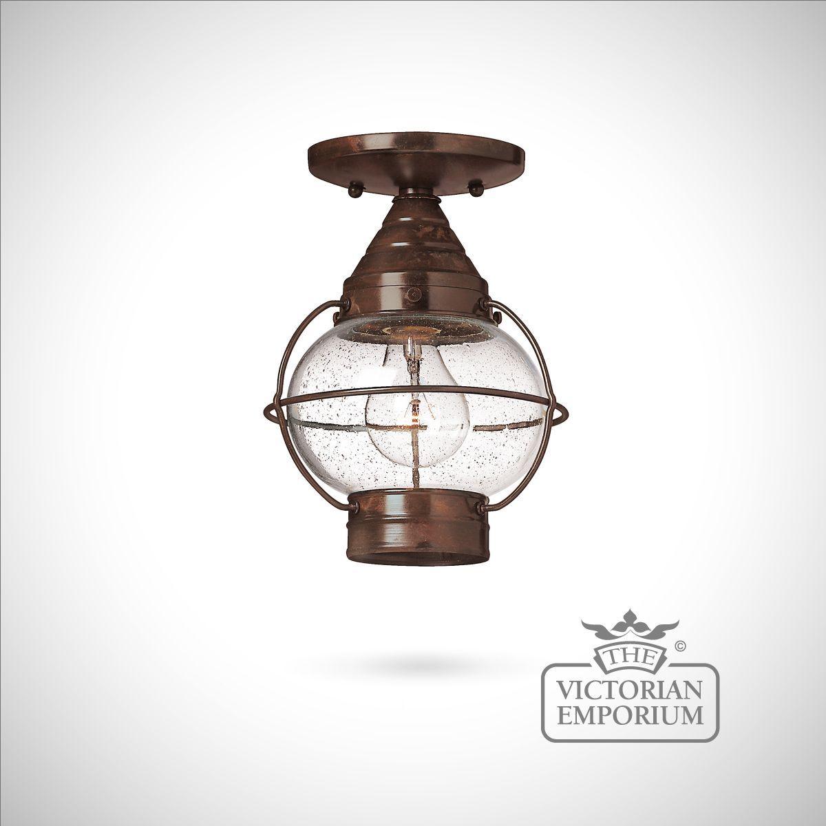 buy classic onion lantern in sienna bronze medium exterior