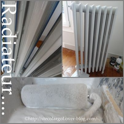 peindre un radiateur en fonte tuto diy techniques bricolage pinterest radiateur fonte. Black Bedroom Furniture Sets. Home Design Ideas