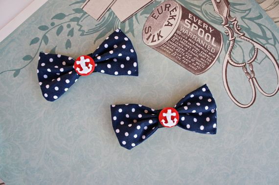 Olivia Paige   Sailor navy Pin up ANchor by OliviaPaigeClothing, $12.00