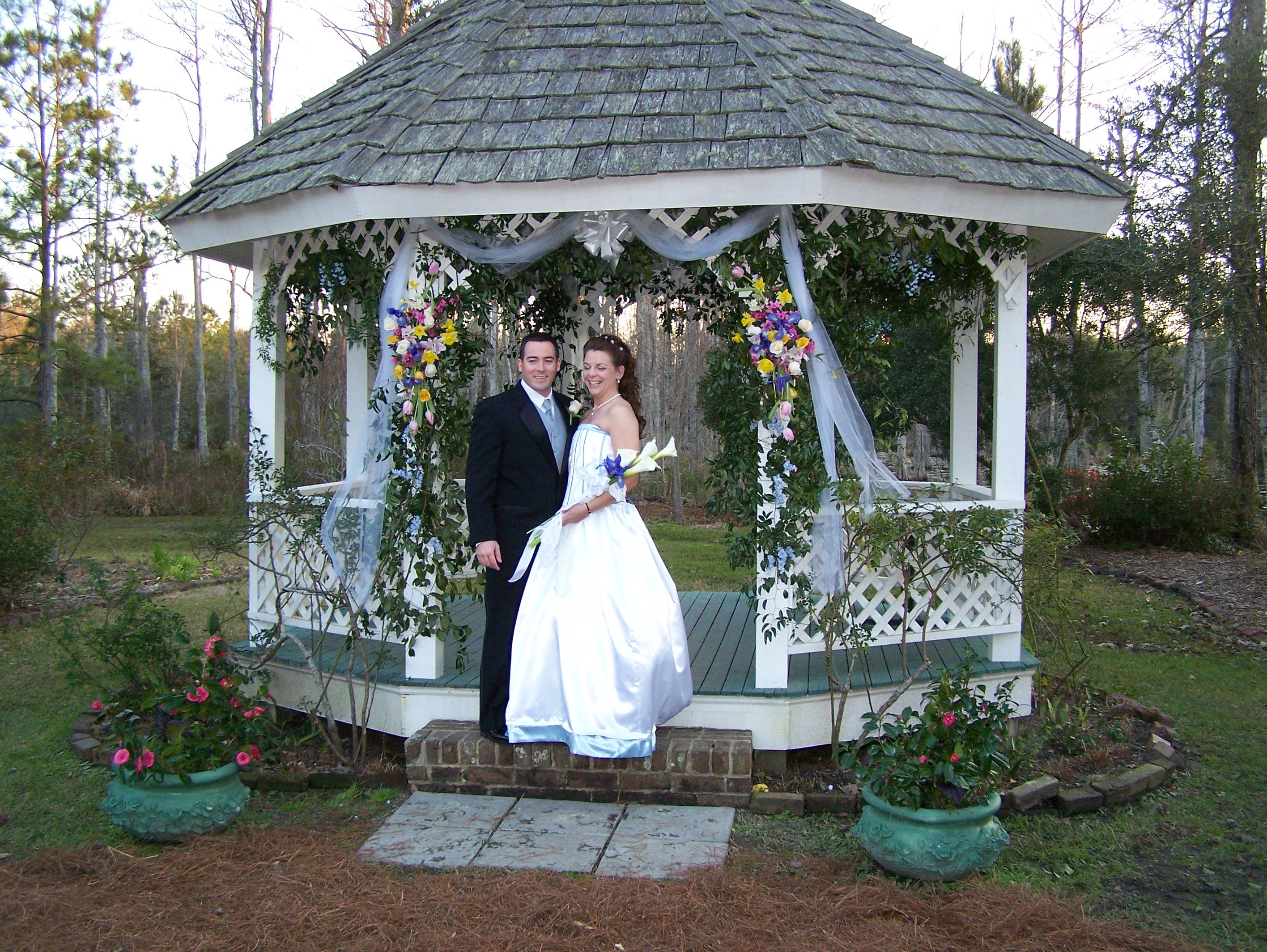 This Is The Gazebo At Ceremony Site Cypress Gardens