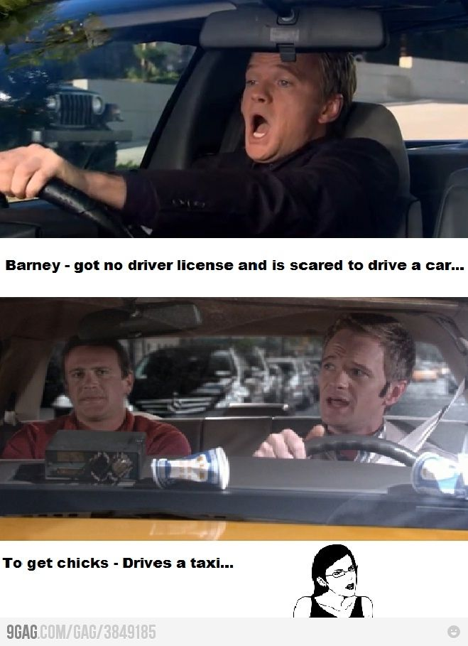 """HIMYM - I wondered about this... How about the episode where he keeps trying to """"talk"""" his way out of a ticket?"""