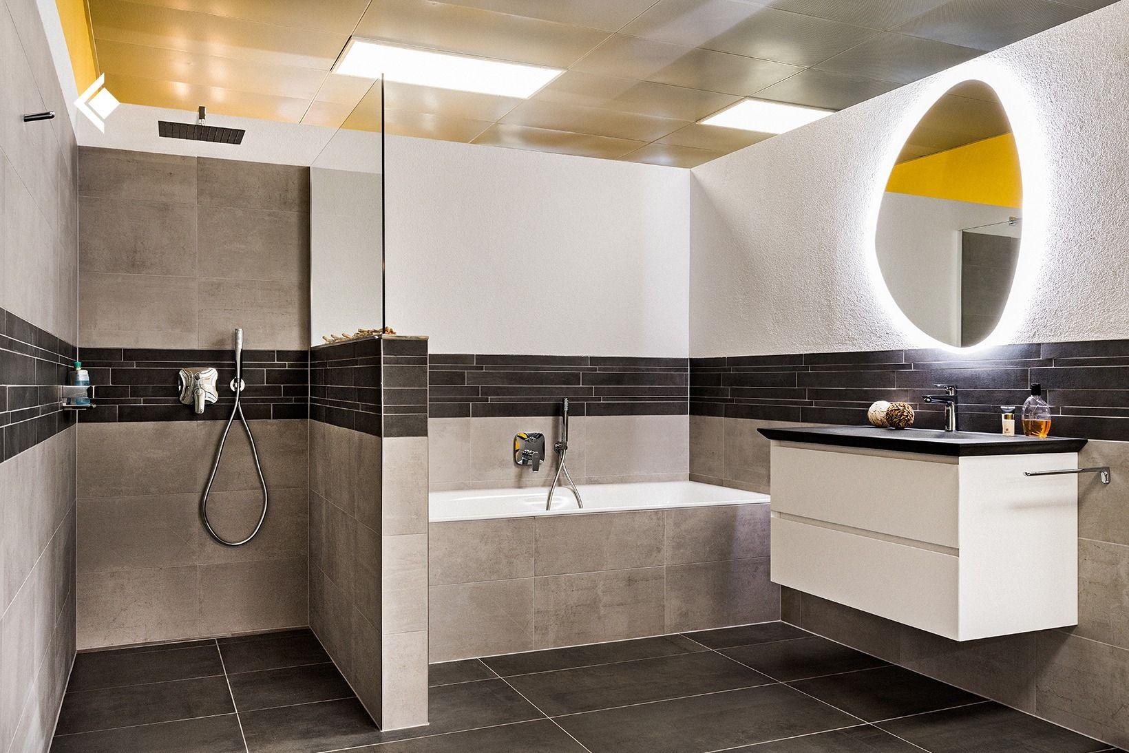 Badezimmer Mit Gemauerter Dusche Badezimmer Gemauerte Dusche Badezimmer Braun