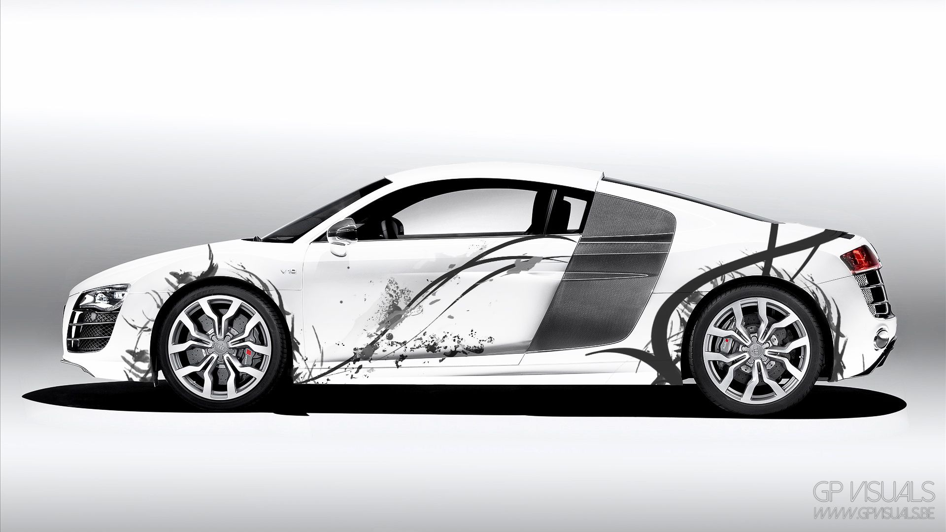 A Body Art Design Of The Audi R8 Audi R8 Euro Design Design Automotive Audi [ 1080 x 1920 Pixel ]