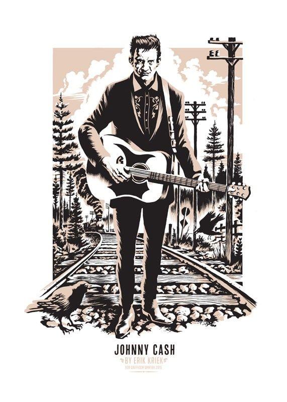 Download Johnny Cash | Johnny cash art, Johnny cash tattoo, Johnny cash