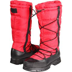 LAUREN by Ralph Lauren - Quinly (Bright Red Nylon/Black Leather) - Footwear, $97.99 | www.findbuy.co/store/zappos-com #LAURENbyRalphLauren