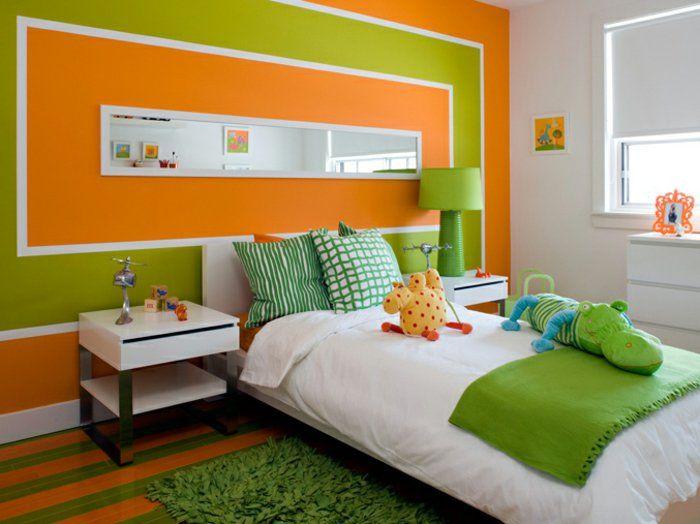 schöne kinderzimmer ideen einrichtung frische und fröhliche farben