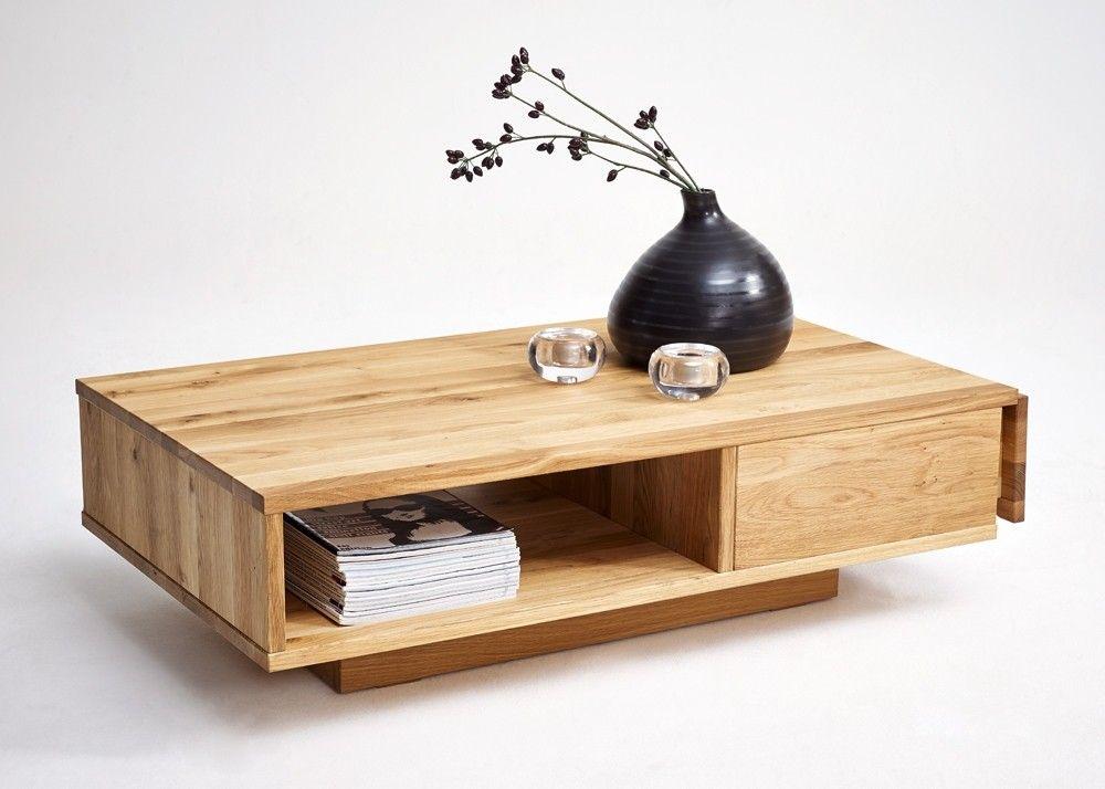 Couchtisch Holz Horst von Gradel Wohnzimmertisch Wildeiche Massiv