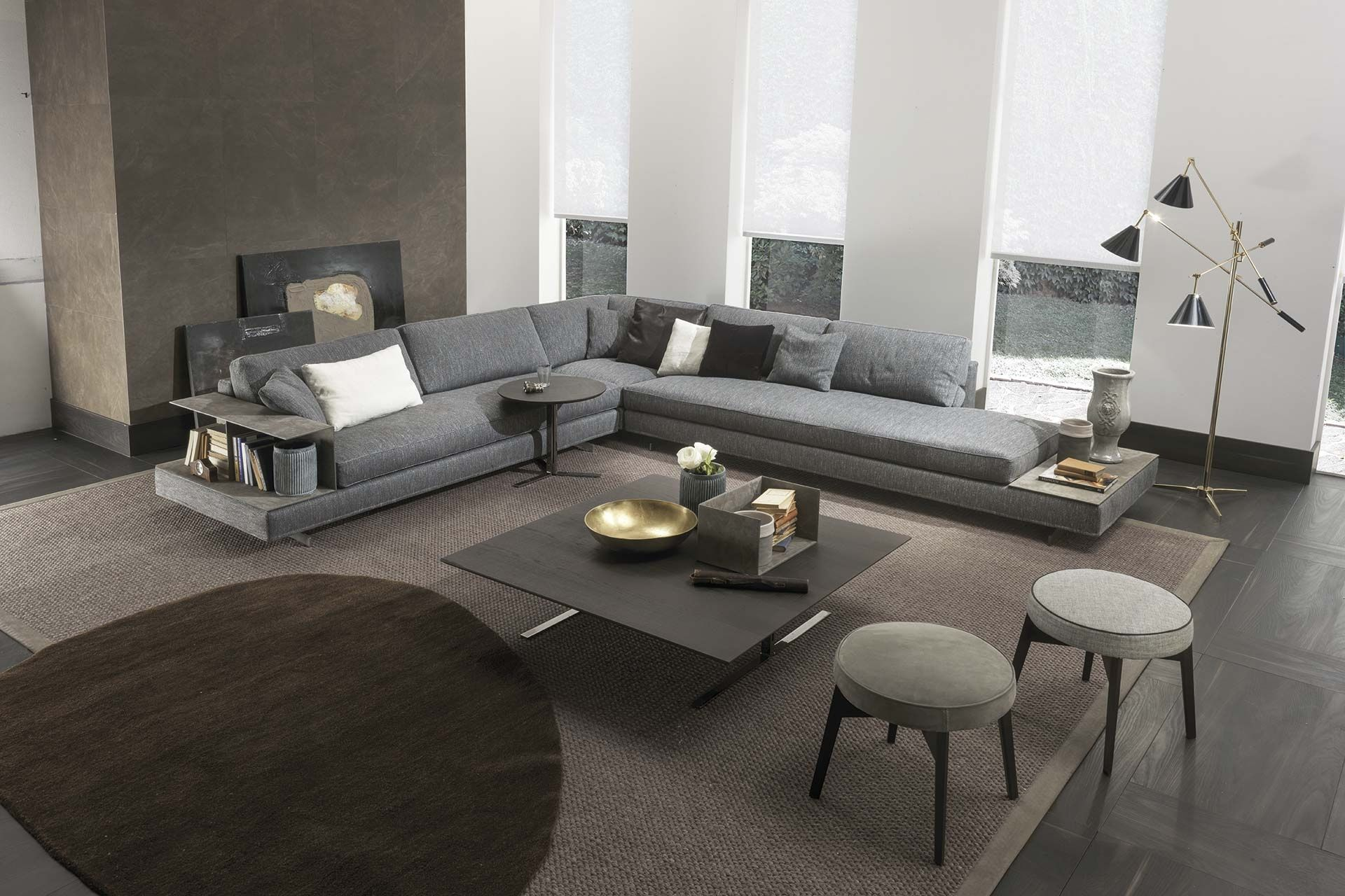 Wohnzimmer Couch Im Raum Davis Case Sofa By Frigerio Davis Collection Is Characterised By