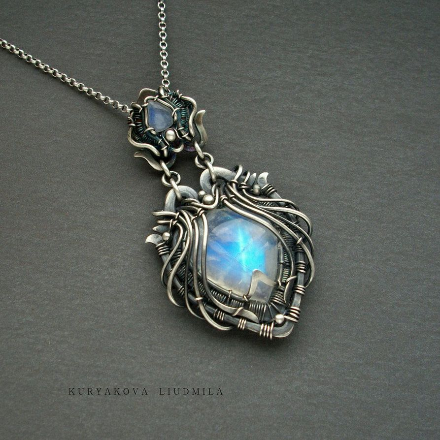 mOOnlight by KL-WireDream.deviantart.com on @DeviantArt | Jewelry ...