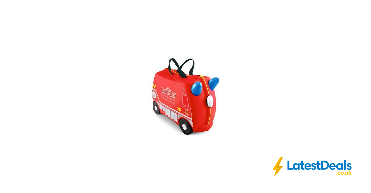 Trunki Frank the Firetruck Ride on Suitcase, £39.99 at
