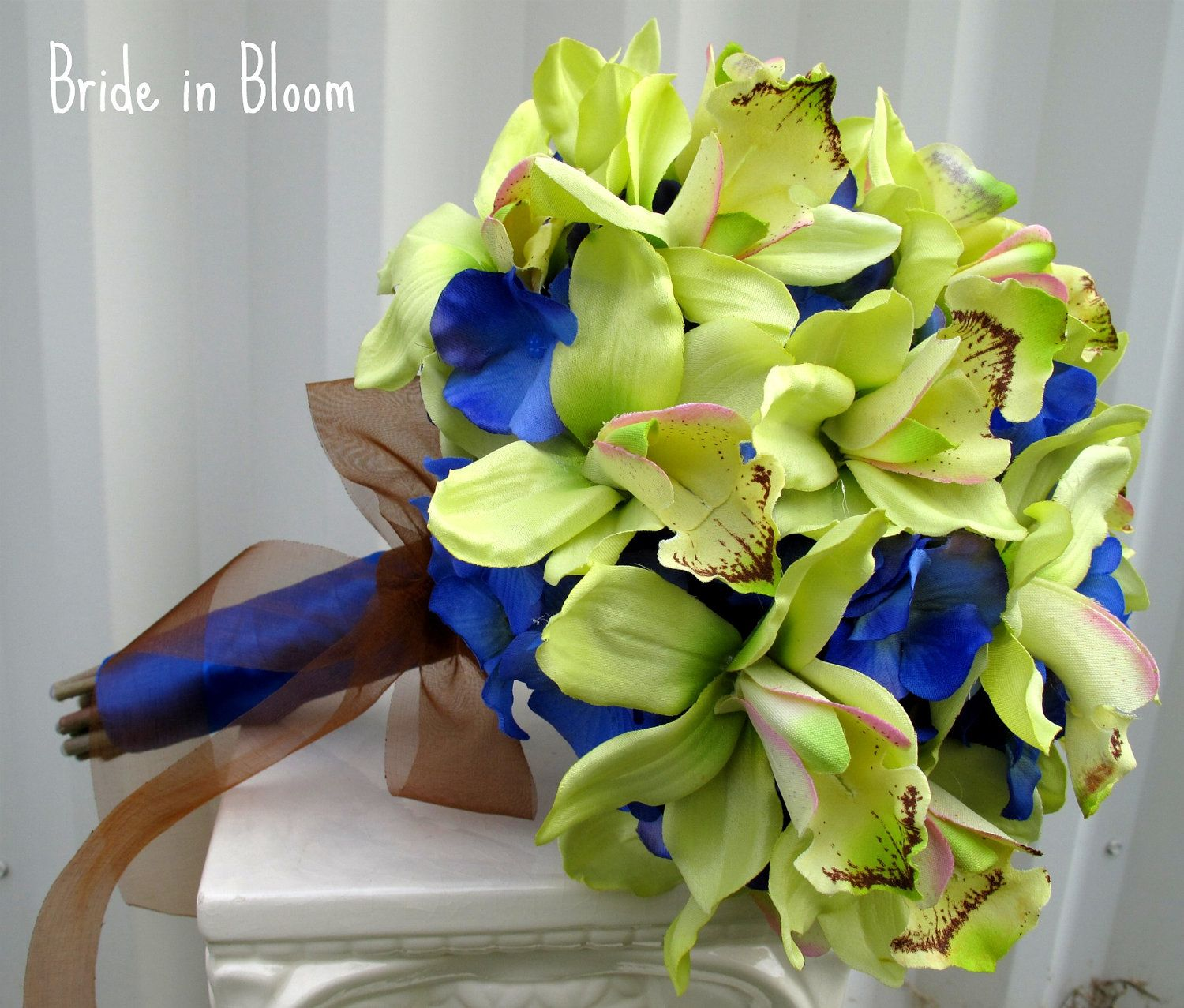 Por items for green and royal blue on Etsy   Wedding Ideas ...
