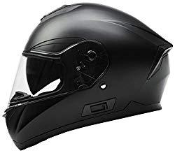 Motorcycle Full Face Helmet DOT Approved – YEMA YM-831 Motorbike Moped Street Bi…