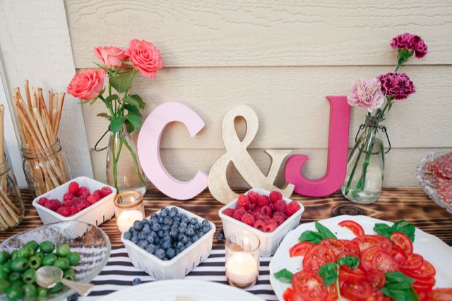 Backyard engagement parties on pinterest - Engagement party decoration ideas home property ...