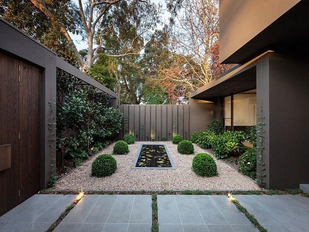 Taman Di Balik Pagar Rumah Yang Yahut Pinterest Interiors