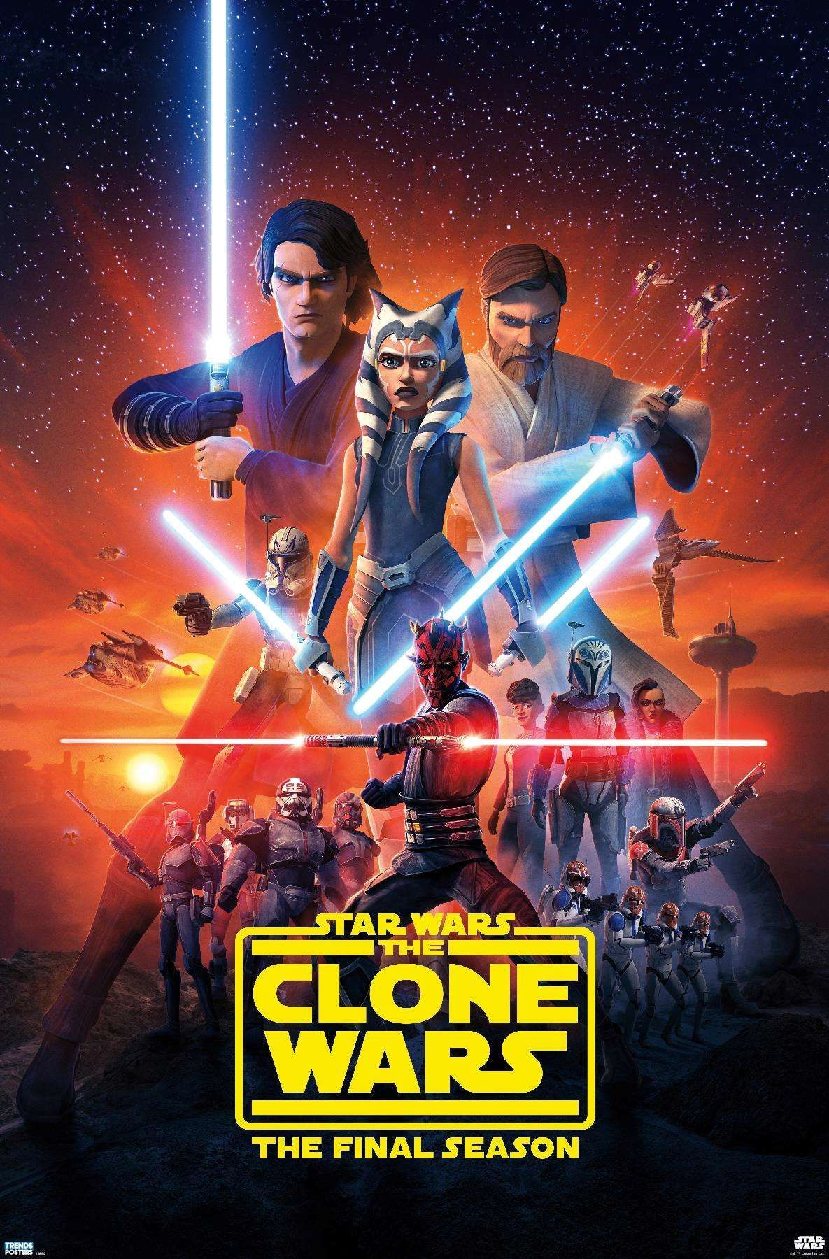 Star Wars: Clone Wars – Season 7 Key Art