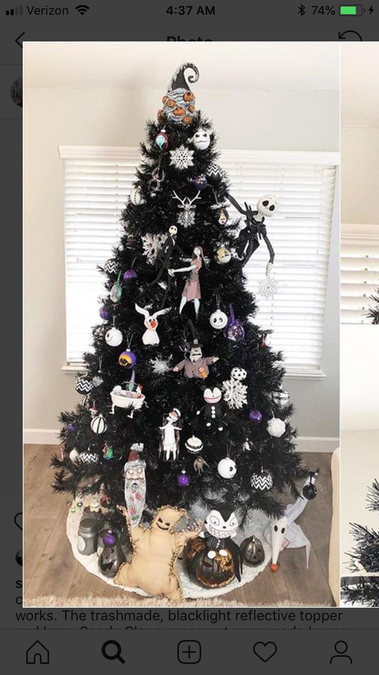 Pin By Suneet Ashburn On Nightmare Before Christmas Nightmare Before Christmas Ornaments Nightmare Before Christmas Decorations Christmas Tree Themes