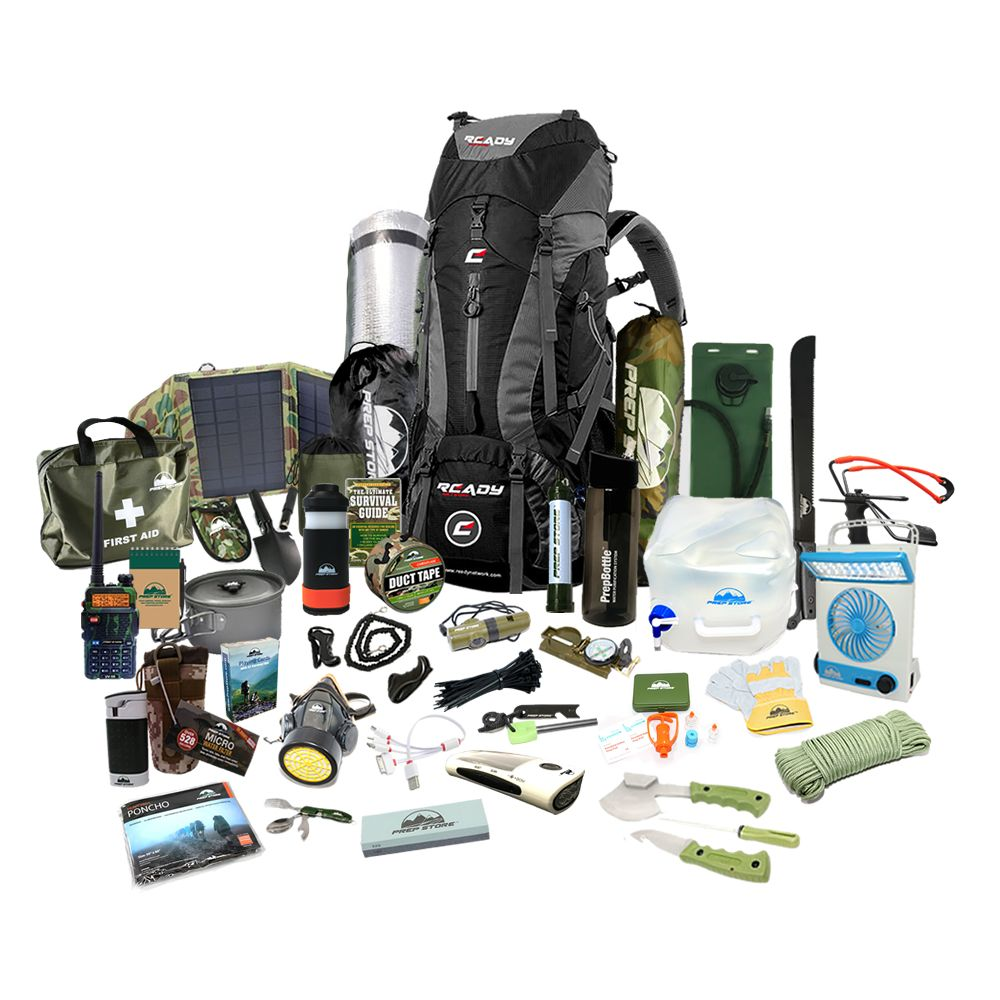 Elite Ready Backpack 1 Emergency Pack Hurricane Emergency Kit Bug Out Bag Available In The Usa Hurricane Emergency Kit Elite Backpack Emergency Packs