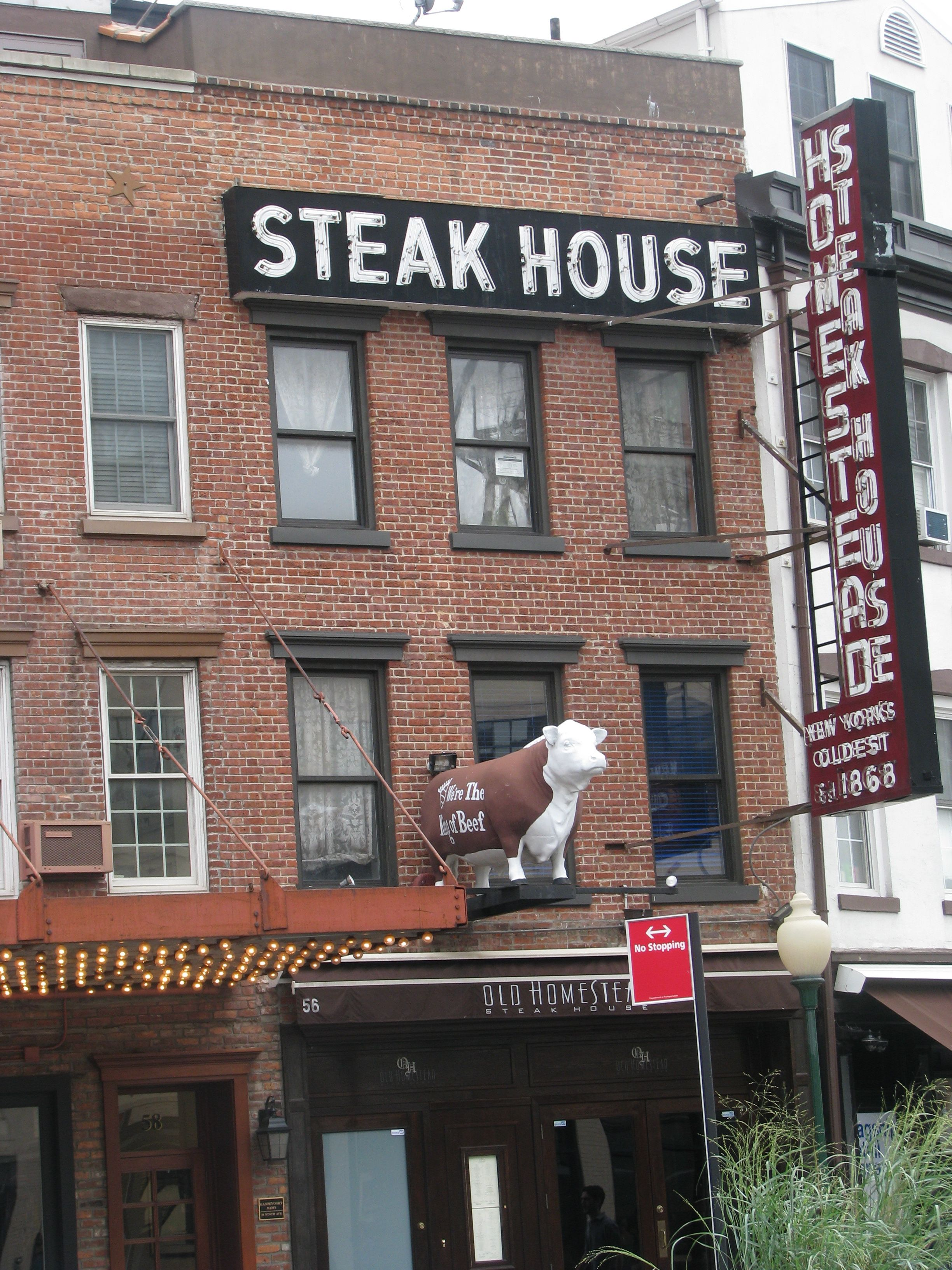 Meatpacking District Annabelle The Cow Outside The Old Homestead Steakhouse Celebrated Her Her 60 Alee Berry S Photography All Images Belong To Me Old H