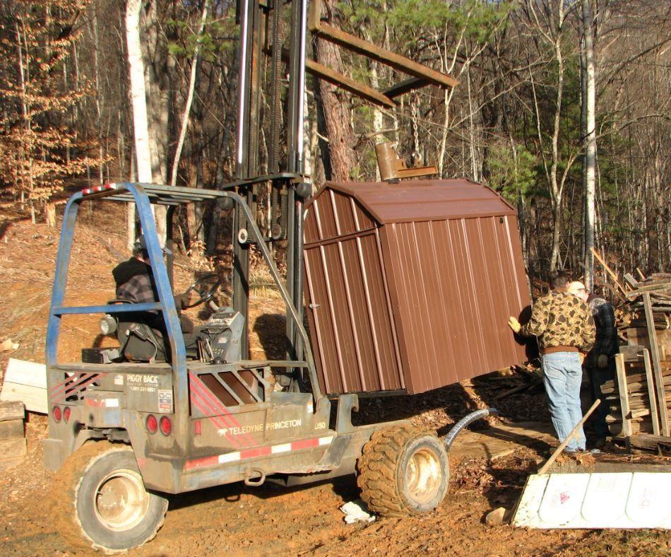 Waterless ForcedAir Wood Furnace Outdoor wood burning