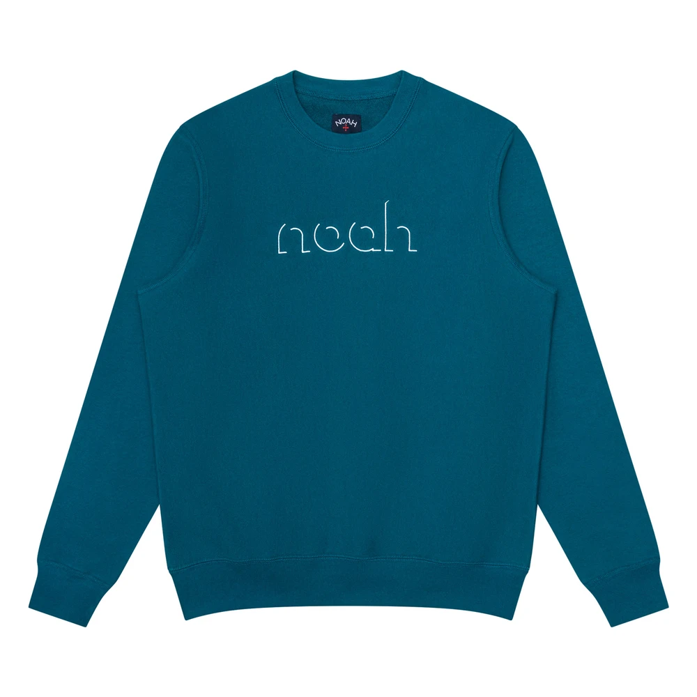 Outline Crewneck Noah Nyc Graphic Sweatshirt Noah Nyc Crew Neck [ 1000 x 1000 Pixel ]