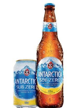 Cerveja Antarctica Sub Zero Ambev Cerveja Cervejas Brasileiras Bolo Cerveja