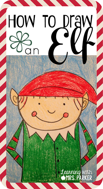 How To Draw An Elf Directed Drawing Learning With Mrs