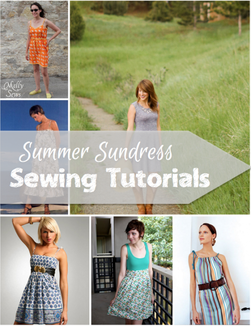 Summer is coming and of course you need these summer sundress tutorials to get you through it!