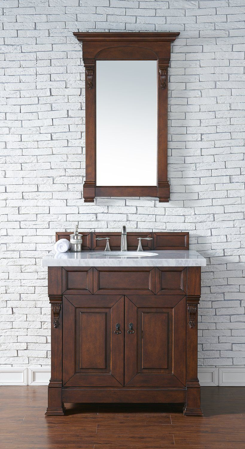 Brookfield Warm Cherry Single Bathroom Vanity Fair Cherry Bathroom Vanity Decorating Design