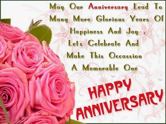 Happy Anniversary Quotes, Message, Wishes and Poems | SayingImages ...