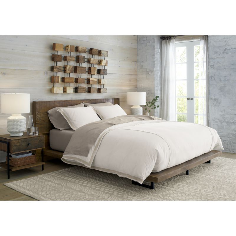 Atwood Queen Bed without Bookcase Footboard | Pinterest