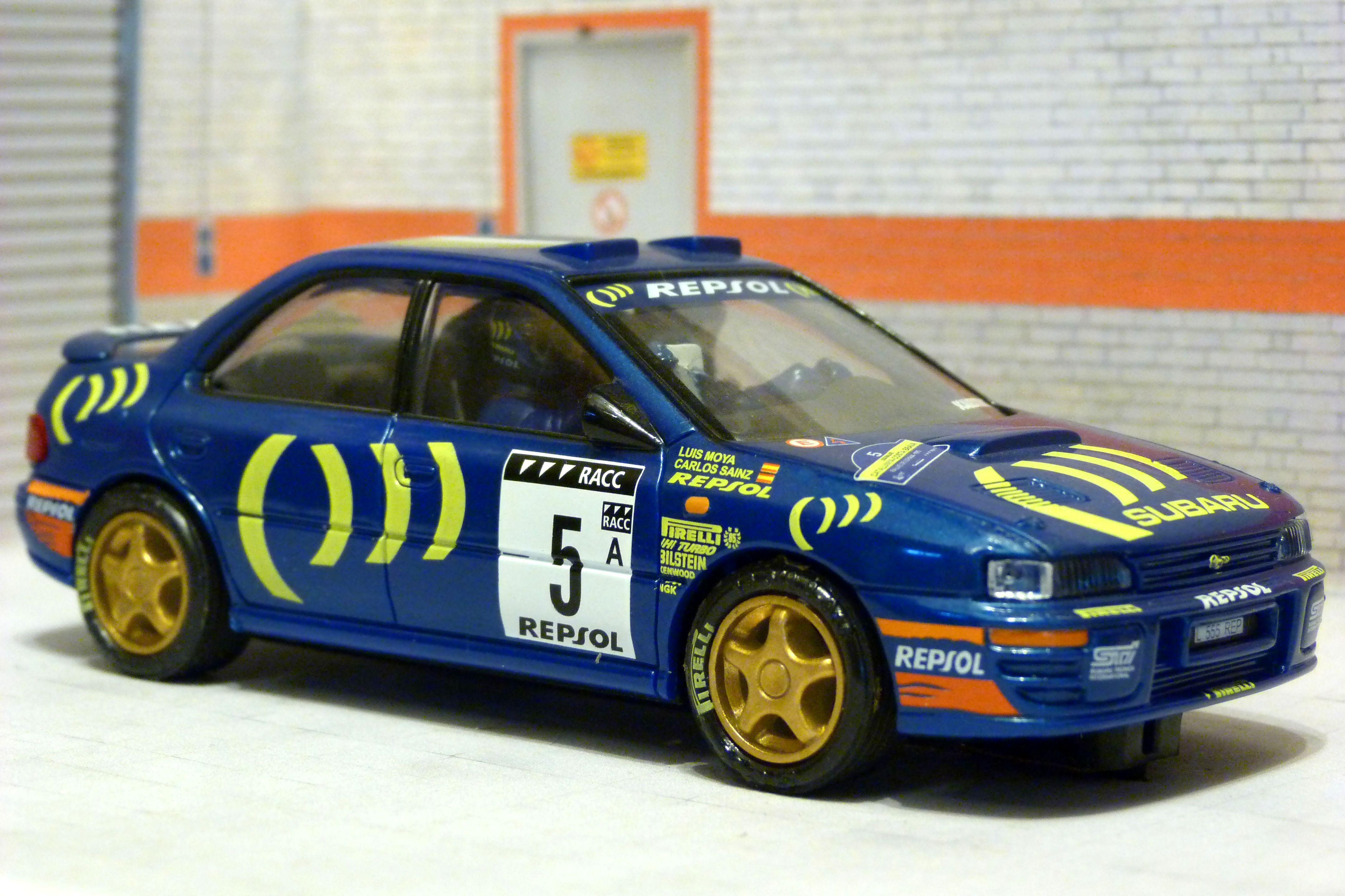 Ninco 50436 Mitsubishi Lancer WRC Rally Scalextric SCX Slot Car 1//32