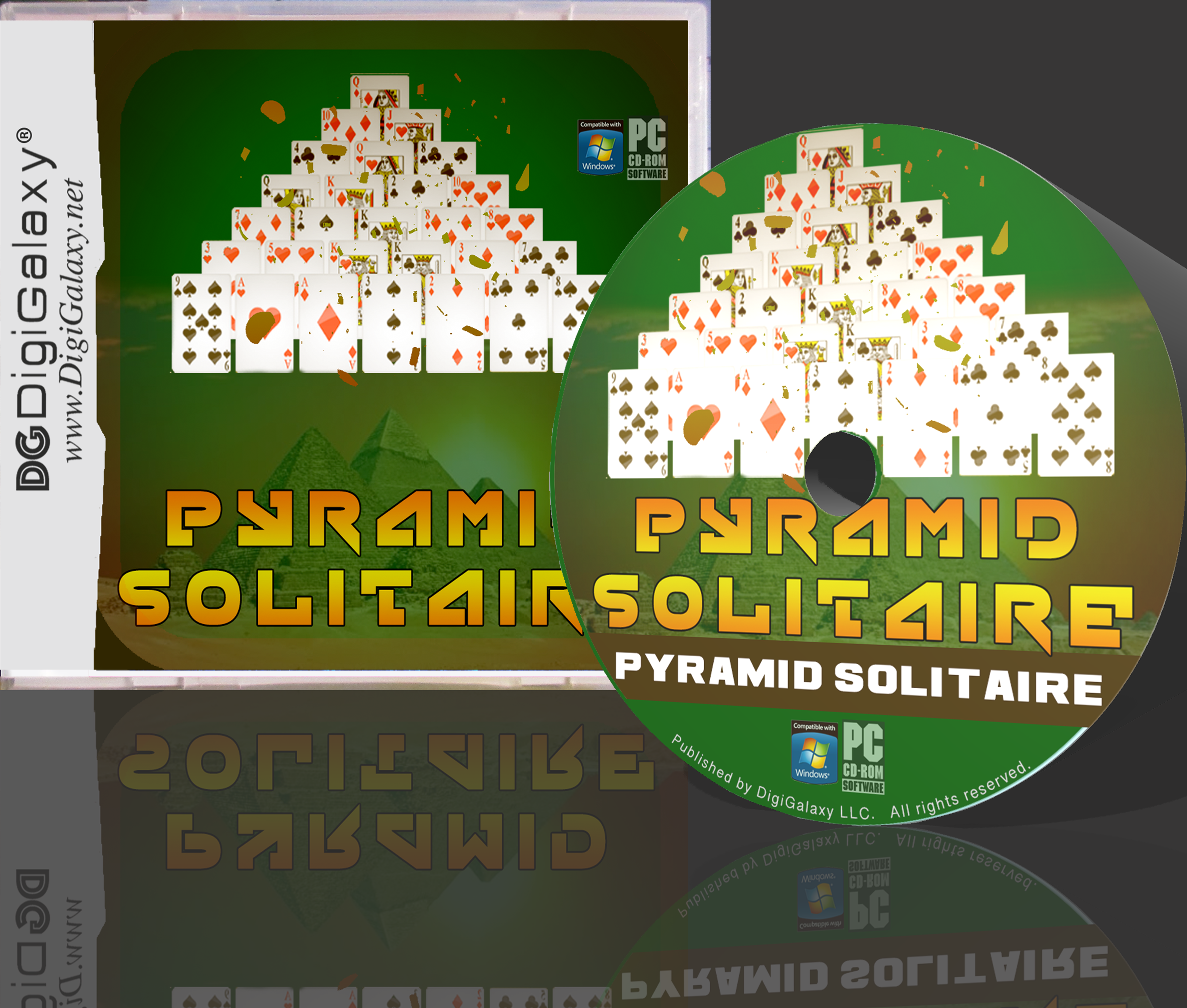 Pyramid Solitaire Pyramid solitaire, Solitaire card game