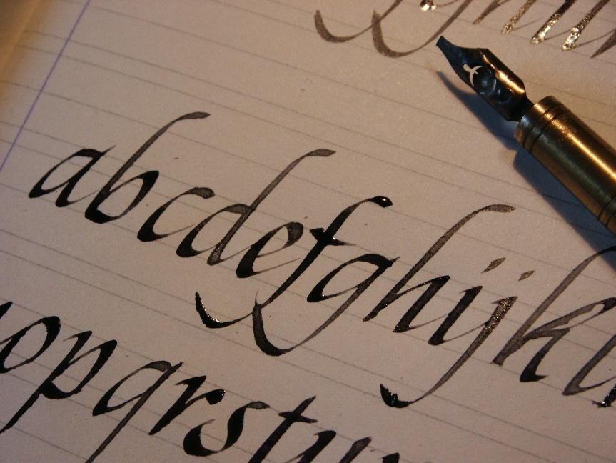 Calligrafia bambini ~ Calligrafia «cancelleresca la scrittura italica detta anche