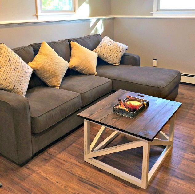Basement Room Ideas Painting diy coffee table, basement ideas, living room ideas, painted