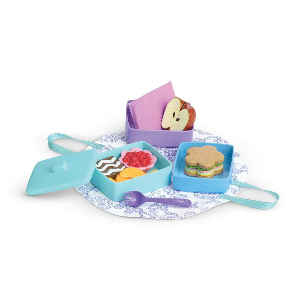 Stackable Lunch Set #dollaccessories