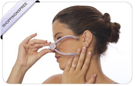 Slique DIY Face & Body Hair Threading Device