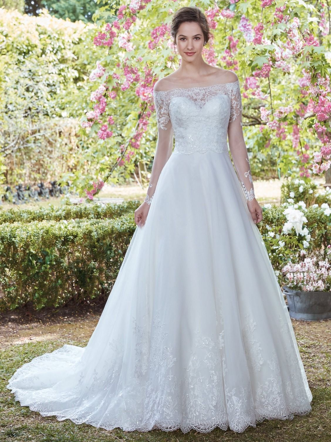 Maggie Sottero Wedding Dresses | Ballgown wedding dress, Wedding ...