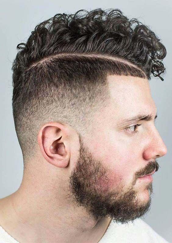 Cortes de pelo cabello rizado hombres