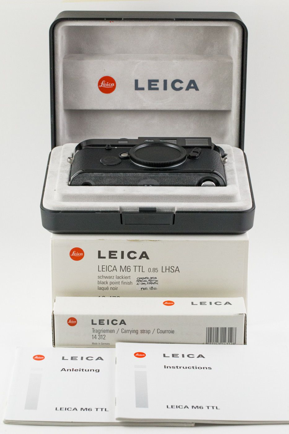 Leica M 85x 10479 Lhsa Special Edition Black Paint New In Box