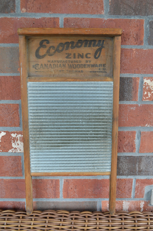 Old Wooden Washboard, vintage washboard, Canadian