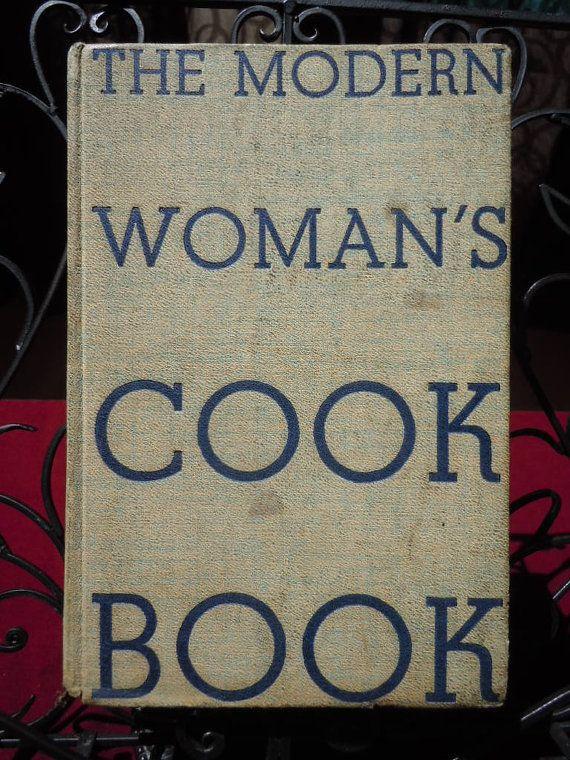 Vintage 1939 Cook Book