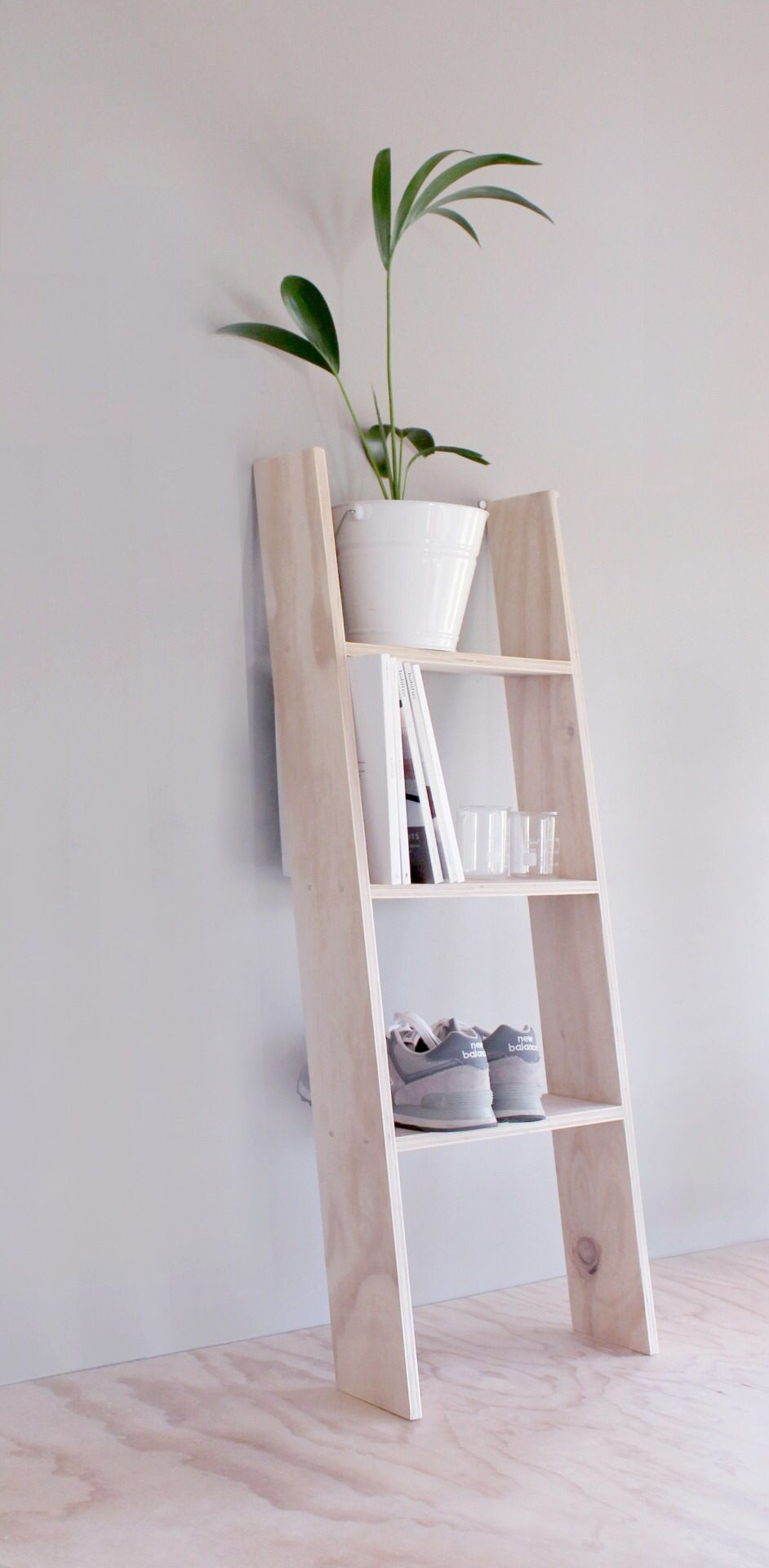 Ladder shelf the fifth watches minimal meets classic design