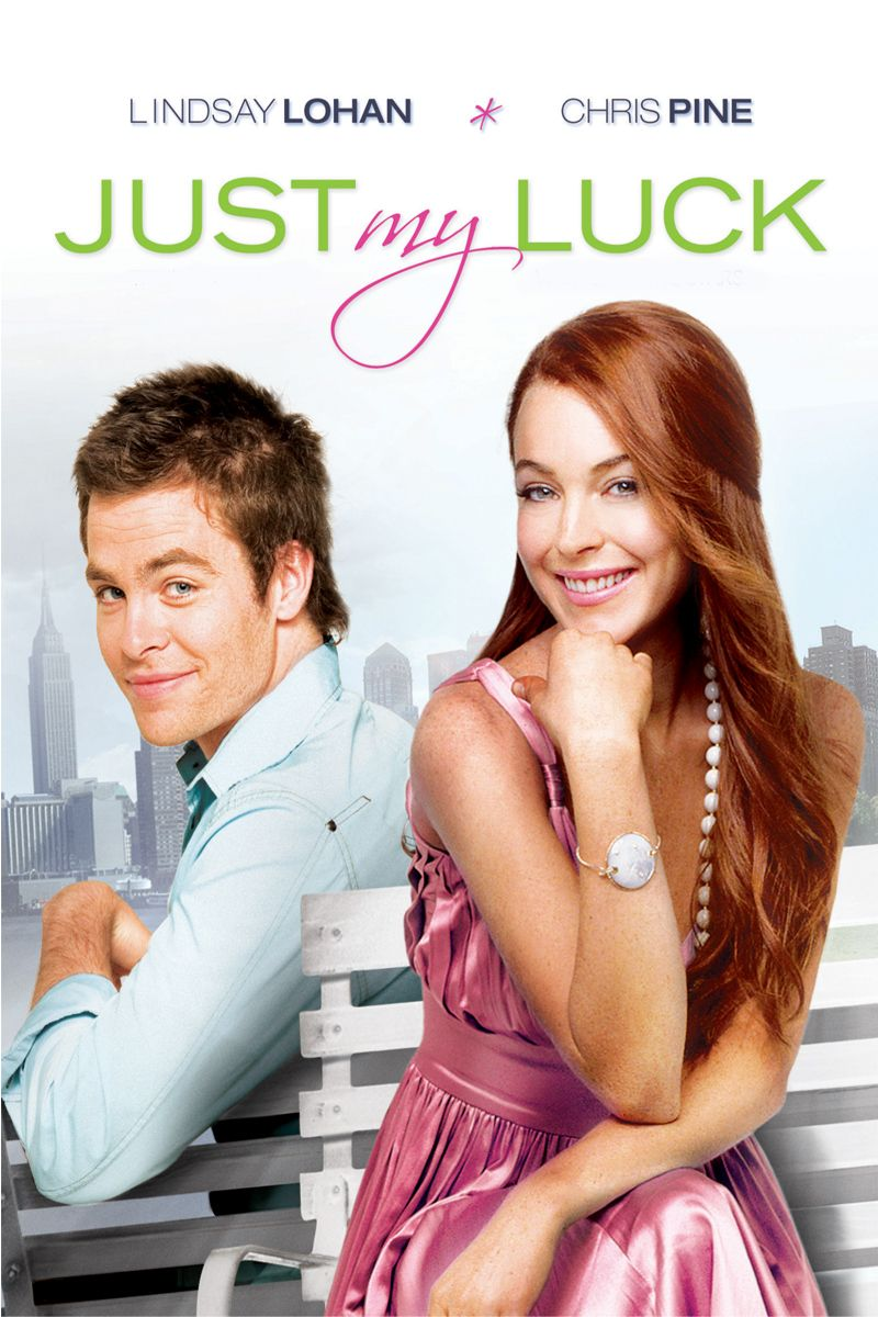 Just My Luck Movie Poster - Lindsay Lohan, Chris Pine, Faizon Love  #JustMyLuck, #LindsayLohan, #ChrisPine, #FaizonLove, #DonaldPetrie,  #Romance, #Art, ...