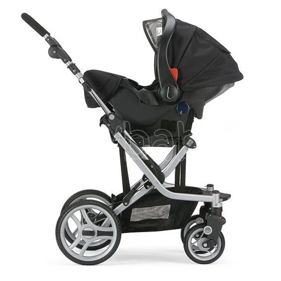 Our Stroller Teutonia Mistral S With Infant Car Seat
