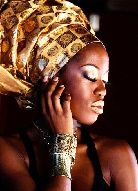 African Hair wraps | head wraps | Tumblr