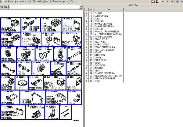 Parts Manual Software Electronic Parts Mitsubishi Truck Parts