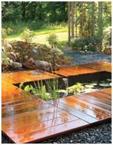 Free Water Garden and Koi Pond Building Guides and Project Plans - Build a beautiful pond in your backyard with these free how-to guides and do-it-yourself plans. Photo: How to build a Peaceful Garden Pond with the help of a free downloadable guide from FamilyHandyman.com