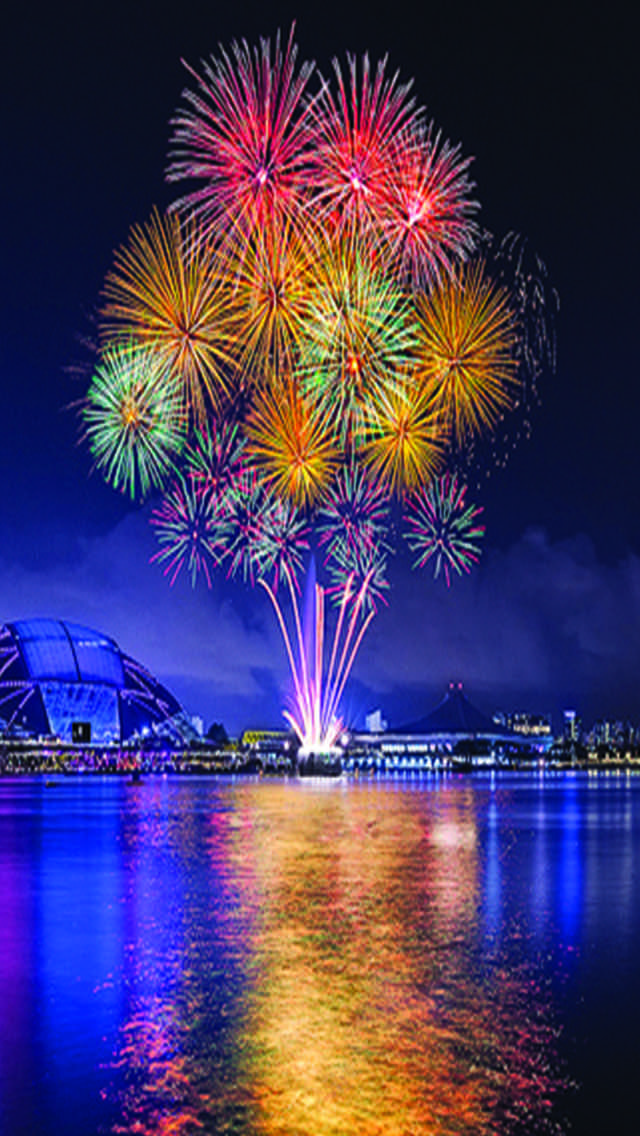Wallpapers and Themes by Sharyl Dybvig Fireworks