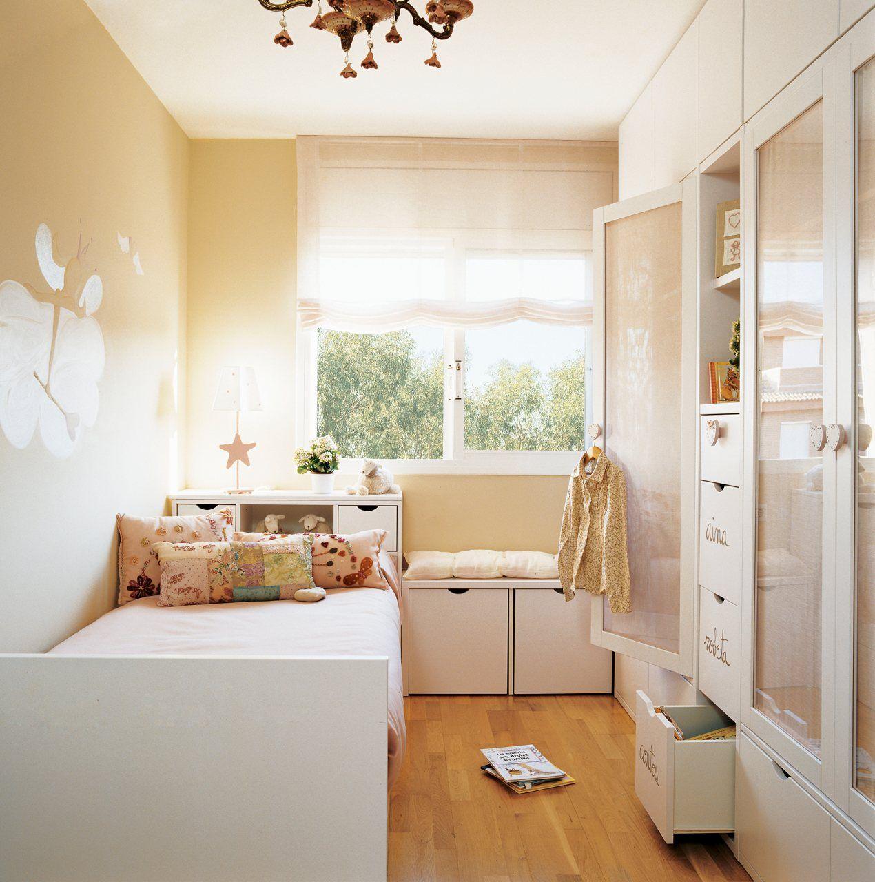 Dormitorios infantiles peque os s cales partido for Cuartos para ninas grandes